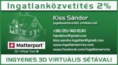 Kiss Sándor Ingatlanközvetítő, értékbecslő