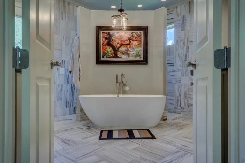 Csodás fürdőszobák gyönyörű otthonokból