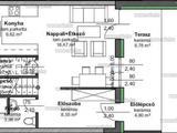 Solymáron, új építésű, 1+2 szobás sorházi lakás eladó