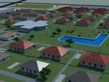 Fejlesztési terület Ausztria-közelben, termálvízzel