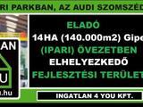 Eladó 140000 m2 ipari, keresk. telek, Győr