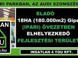 Eladó 182000 m2 ipari, keresk. telek, Győr