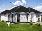 KUNSZIGETEN prémium, új építésű, garázsos családi ház, hőszivattyúval eladó.
