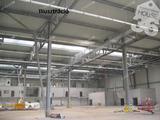 Kecskeméttől 20 percnyire,15601 m2-es ipari telken 1350 m2-es üzemcsarnok eladó!