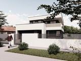 Érd Parkvárosban 927m2 telken MINIMÁL stílusú 2szintes175m2 4szoba+nappalis dupla garázsos ház