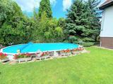Kispesti önálló családi ház medencével,nagy telek