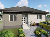 Eladó 90 m2 új építésű ikerház, Győrság